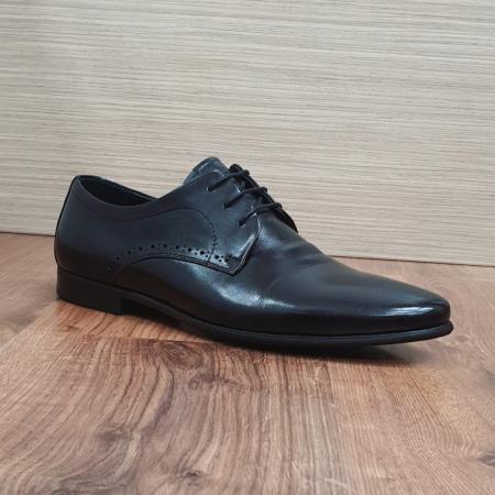 Pantofi Barbati Piele Naturala Negri Cristin B000845