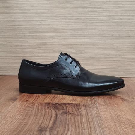 Pantofi Barbati Piele Naturala Negri Cristin B000844