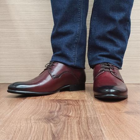 Pantofi Barbati Piele Naturala Grena Ioachim B000862