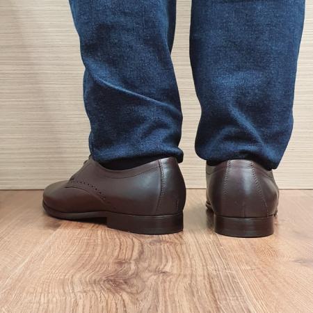 Pantofi Barbati Piele Naturala Maro Cirus B000873