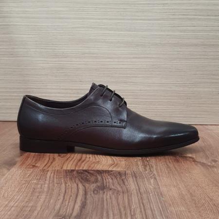 Pantofi Barbati Piele Naturala Maro Cirus B000874