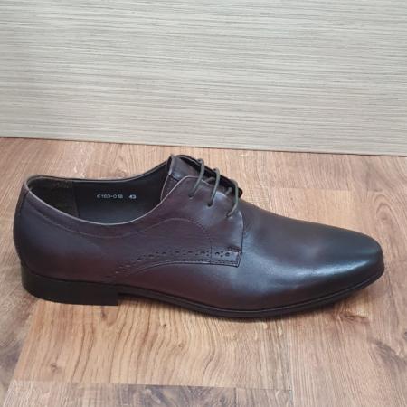 Pantofi Barbati Piele Naturala Maro Cirus B000875