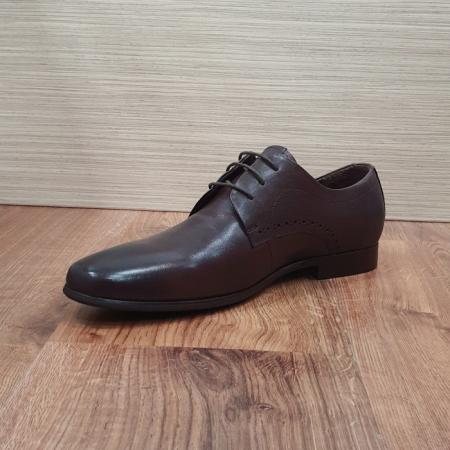 Pantofi Barbati Piele Naturala Maro Cirus B000876