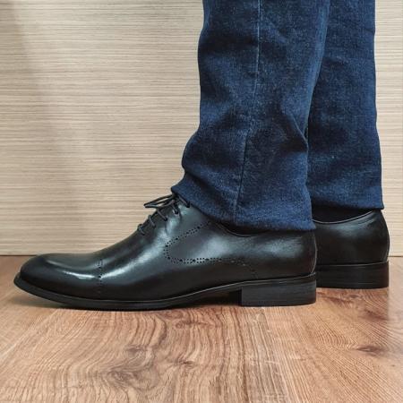 Pantofi Barbati Piele Naturala Negri Darius B000881