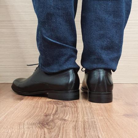 Pantofi Barbati Piele Naturala Negri Darius B000883