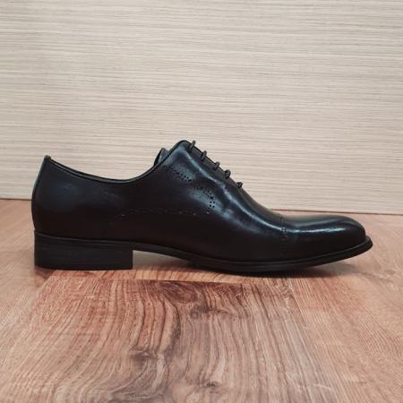 Pantofi Barbati Piele Naturala Negri Darius B000884