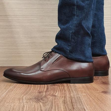 Pantofi Barbati Piele Naturala Maro Aristide B000891