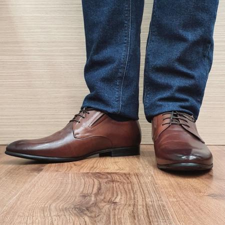 Pantofi Barbati Piele Naturala Maro Aristide B000892