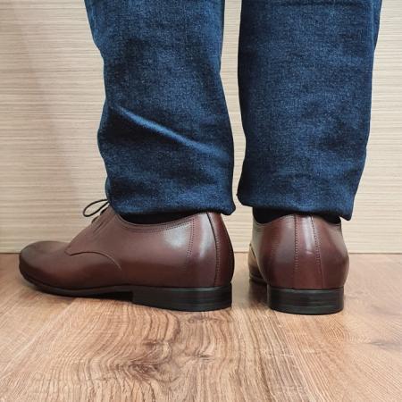 Pantofi Barbati Piele Naturala Maro Aristide B000893