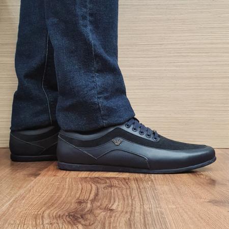 Pantofi Casual Barbati Piele Naturala Bleumarin David B000900