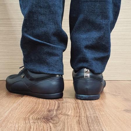 Pantofi Casual Barbati Piele Naturala Bleumarin David B000903