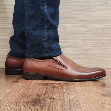 Pantofi Barbati Piele Naturala Maro Ananias B000910