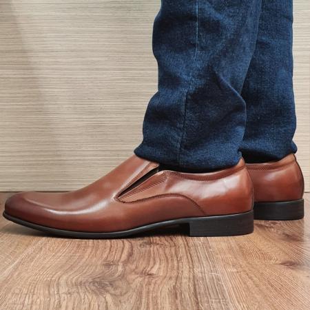 Pantofi Barbati Piele Naturala Maro Ananias B000911