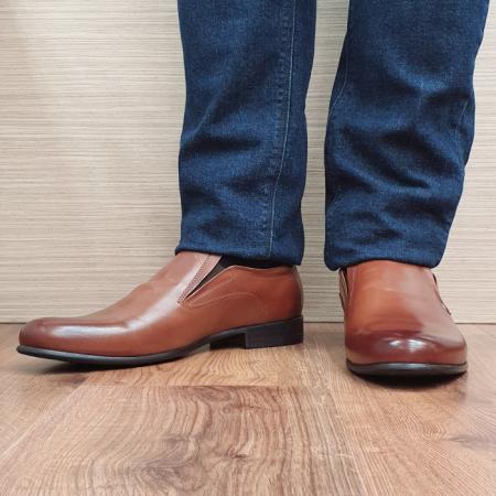 Pantofi Barbati Piele Naturala Maro Ananias B000912
