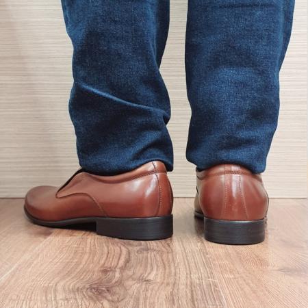 Pantofi Barbati Piele Naturala Maro Ananias B000913