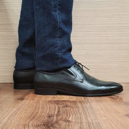 Pantofi Barbati Piele Naturala Negri Cristian B000950