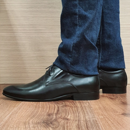 Pantofi Barbati Piele Naturala Negri Cristian B000951
