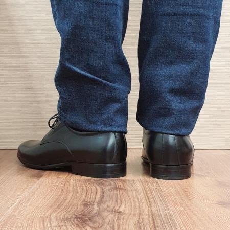 Pantofi Barbati Piele Naturala Negri Cristian B000953