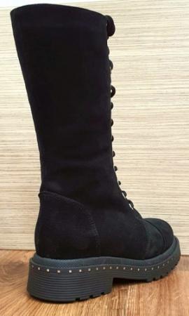 Cizme Dama Piele Naturala Negre Moda Prosper Ambrosia D025817