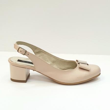 Pantofi Dama Piele Naturala Grej Magdalena D026260