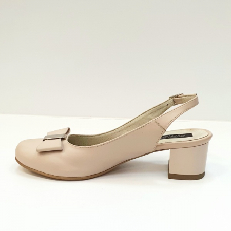 Pantofi Dama Piele Naturala Grej Magdalena D026261