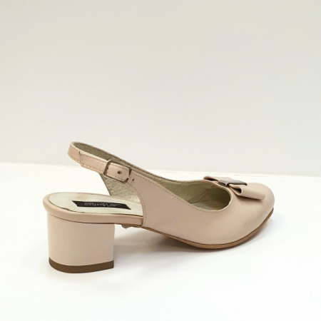 Pantofi Dama Piele Naturala Grej Magdalena D026263