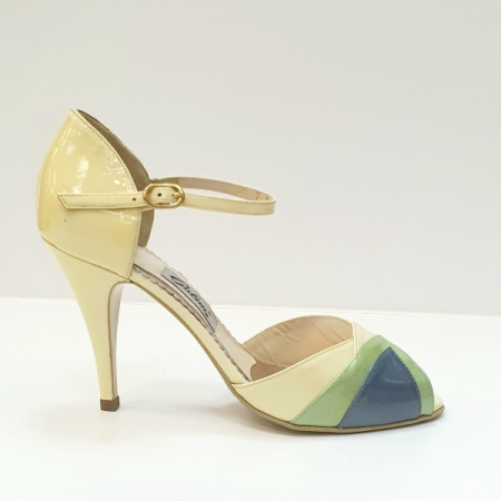 Sandale Dama Piele Naturala Bej Guban Hermiona D026290