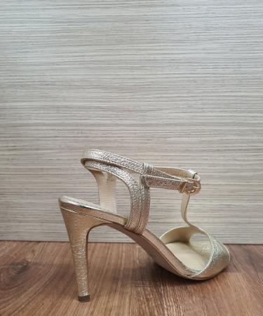 Sandale Piele Naturala Guban Aurii Fifi4