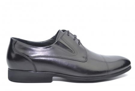 Pantofi Barbati Piele Naturala Negri Emanuel B000500