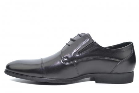 Pantofi Barbati Piele Naturala Negri Emanuel B000501