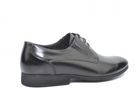 Pantofi Barbati Piele Naturala Negri Emanuel B00050 [3]