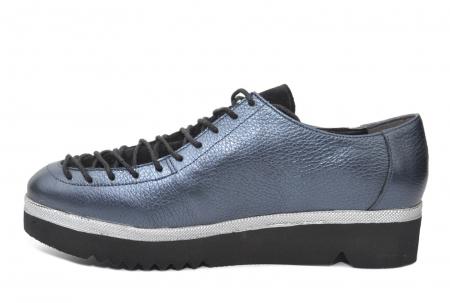 Pantofi Casual Piele Naturala Bleumarin Dorothea D02203 [1]