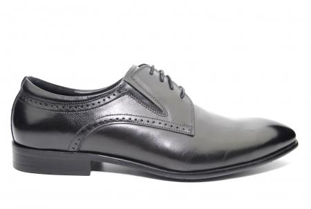Pantofi Barbati Piele Naturala Negri Andrew B00026 [0]