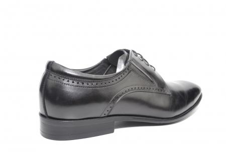Pantofi Barbati Piele Naturala Negri Andrew B00026 [3]