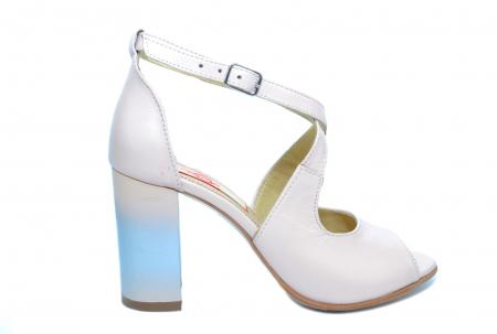 Pantofi Piele Naturala Bej Francisa0