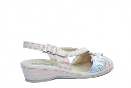 Sandale Piele Naturala Roze Hanna [3]