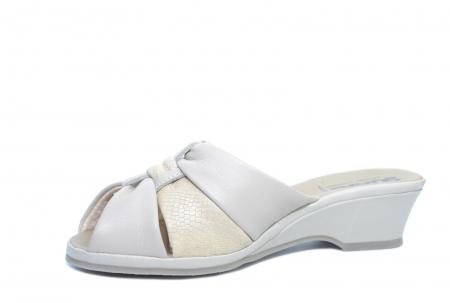 Sandale Piele Naturala Bej Magdalena D02279 [2]