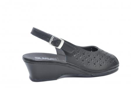 Sandale Piele Naturala Negre Antonella3