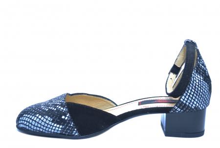 Pantofi Dama Piele Naturala Negri Renee D022221