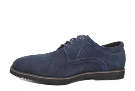 Pantofi Casual Barbati Piele Naturala Bleumarin Otter Damian B000282