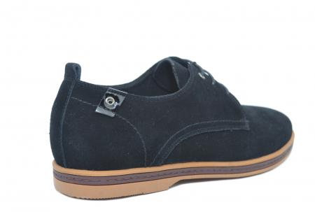 Pantofi Casual Barbati Piele Naturala Negri Otter Alex [3]