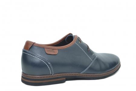 Pantofi Barbati Piele Naturala Bleumarin Otter Iurie B000303