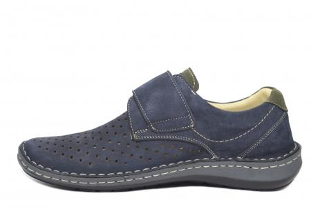 Pantofi Dama Piele Naturala Bleumarin Otter Erasmus B000441