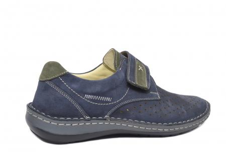 Pantofi Dama Piele Naturala Bleumarin Otter Erasmus B000443