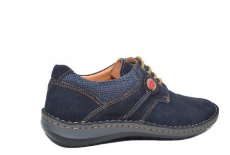 Pantofi Casual Barbati Piele Naturala Bleumarin Otter Eddy B000413