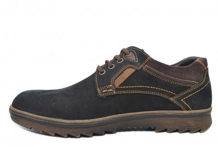 Pantofi Casual Barbati Piele Naturala Negri Otter Felix B000351