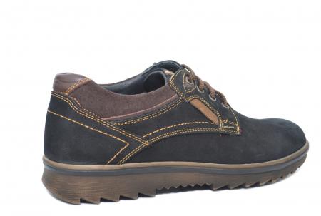 Pantofi Casual Barbati Piele Naturala Negri Otter Felix B000353