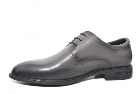 Pantofi Barbati Piele Naturala Gri Ernest B000482