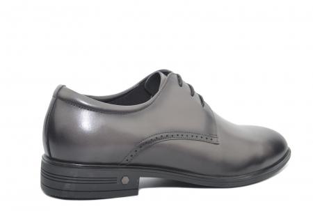 Pantofi Barbati Piele Naturala Gri Ernest B000483
