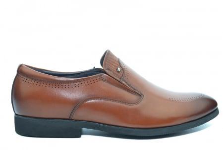Pantofi Barbati Piele Naturala Maro Ermin B000470